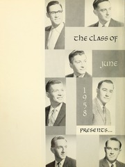 Page 6, 1958 Edition, Yeshiva University - Masmid Yearbook (New York, NY) online yearbook collection