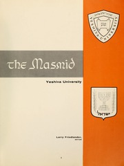 Page 7, 1958 Edition, Yeshiva University - Masmid Yearbook (New York, NY) online yearbook collection