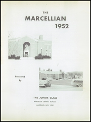 Page 5, 1952 Edition, Marcellus Central High School - Marcellian Yearbook (Marcellus, NY) online yearbook collection