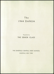 Page 3, 1944 Edition, Dansville Central School - Danua Yearbook (Dansville, NY) online yearbook collection