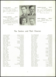 Page 13, 1946 Edition, Dansville Central School - Danua Yearbook (Dansville, NY) online yearbook collection