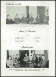 Page 10, 1952 Edition, Dansville Central School - Danua Yearbook (Dansville, NY) online yearbook collection