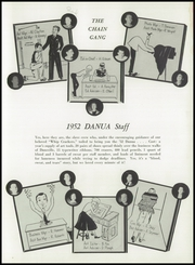 Page 9, 1952 Edition, Dansville Central School - Danua Yearbook (Dansville, NY) online yearbook collection
