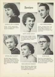 Page 16, 1953 Edition, Dansville Central School - Danua Yearbook (Dansville, NY) online yearbook collection