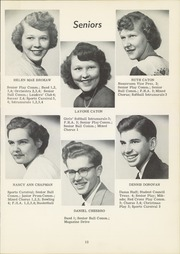 Page 17, 1953 Edition, Dansville Central School - Danua Yearbook (Dansville, NY) online yearbook collection