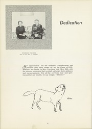 Page 8, 1953 Edition, Dansville Central School - Danua Yearbook (Dansville, NY) online yearbook collection