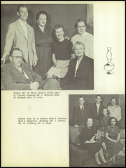 Page 10, 1955 Edition, Dansville Central School - Danua Yearbook (Dansville, NY) online yearbook collection