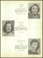 Page 15, 1955 Edition, Dansville Central School - Danua Yearbook (Dansville, NY) online yearbook collection