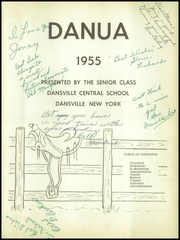 Page 5, 1955 Edition, Dansville Central School - Danua Yearbook (Dansville, NY) online yearbook collection