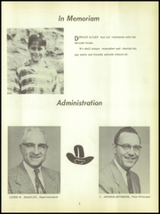 Page 7, 1955 Edition, Dansville Central School - Danua Yearbook (Dansville, NY) online yearbook collection