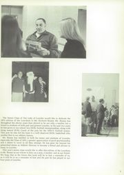 Page 9, 1972 Edition, Our Lady of Lourdes High School - Lourdean Yearbook (Poughkeepsie, NY) online yearbook collection