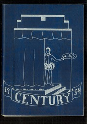 1954 Edition, Newfane High School - Century Yearbook (Newfane, NY)