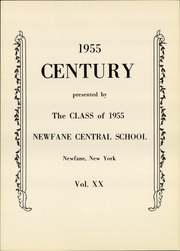 Page 5, 1955 Edition, Newfane High School - Century Yearbook (Newfane, NY) online yearbook collection