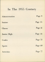 Page 9, 1955 Edition, Newfane High School - Century Yearbook (Newfane, NY) online yearbook collection