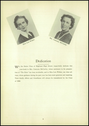 Page 8, 1940 Edition, Highland High School - Echo Yearbook (Highland, NY) online yearbook collection