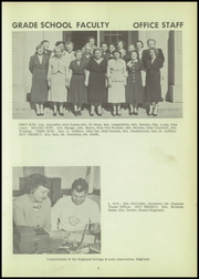 Page 13, 1953 Edition, Highland High School - Echo Yearbook (Highland, NY) online yearbook collection
