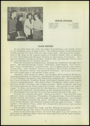 Page 16, 1953 Edition, Highland High School - Echo Yearbook (Highland, NY) online yearbook collection