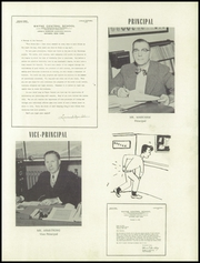 Page 9, 1953 Edition, Wayne Central High School - Eagle Yearbook (Ontario, NY) online yearbook collection
