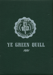 Page 1, 1951 Edition, Herkimer High School - Ye Green Quill Yearbook (Herkimer, NY) online yearbook collection