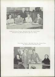 Page 16, 1951 Edition, Herkimer High School - Ye Green Quill Yearbook (Herkimer, NY) online yearbook collection