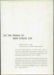 Page 9, 1951 Edition, Herkimer High School - Ye Green Quill Yearbook (Herkimer, NY) online yearbook collection