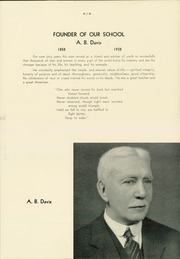 Page 11, 1939 Edition, A B Davis High School - Maroon and White Yearbook (Mount Vernon, NY) online yearbook collection