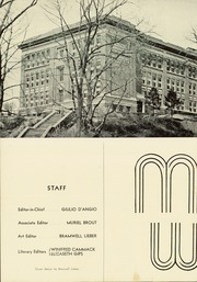 Page 6, 1939 Edition, A B Davis High School - Maroon and White Yearbook (Mount Vernon, NY) online yearbook collection