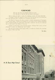 Page 9, 1939 Edition, A B Davis High School - Maroon and White Yearbook (Mount Vernon, NY) online yearbook collection