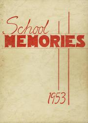 1953 Edition, Newark Valley Central High School - Cardinal Yearbook (Newark Valley, NY)