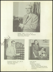 Page 11, 1956 Edition, Newark Valley Central High School - Cardinal Yearbook (Newark Valley, NY) online yearbook collection