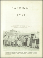 Page 5, 1956 Edition, Newark Valley Central High School - Cardinal Yearbook (Newark Valley, NY) online yearbook collection
