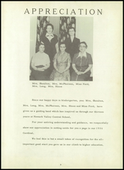 Page 7, 1956 Edition, Newark Valley Central High School - Cardinal Yearbook (Newark Valley, NY) online yearbook collection