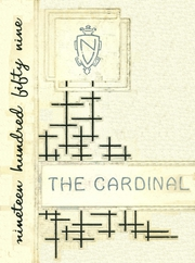 1959 Edition, Newark Valley Central High School - Cardinal Yearbook (Newark Valley, NY)