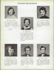 Page 12, 1958 Edition, Liberty High School - Libertas Yearbook (Liberty, NY) online yearbook collection