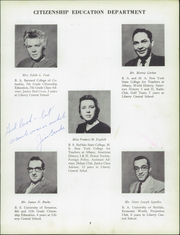 Page 13, 1958 Edition, Liberty High School - Libertas Yearbook (Liberty, NY) online yearbook collection