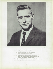 Page 9, 1958 Edition, Liberty High School - Libertas Yearbook (Liberty, NY) online yearbook collection