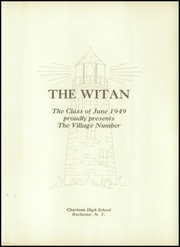 Page 5, 1949 Edition, Charlotte High School - Witan Yearbook (Rochester, NY) online yearbook collection