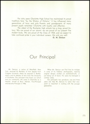 Page 11, 1954 Edition, Charlotte High School - Witan Yearbook (Rochester, NY) online yearbook collection