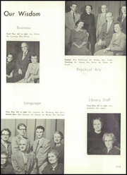 Page 15, 1954 Edition, Charlotte High School - Witan Yearbook (Rochester, NY) online yearbook collection