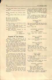 Page 12, 1925 Edition, Hannibal High School - Foursquare Yearbook (Hannibal, NY) online yearbook collection