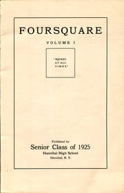 Page 3, 1925 Edition, Hannibal High School - Foursquare Yearbook (Hannibal, NY) online yearbook collection