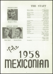 Page 5, 1958 Edition, Mexico Central High School - Mexiconian Yearbook (Mexico, NY) online yearbook collection
