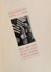Page 5, 1945 Edition, East New York Vocational High School - Crossroads Yearbook (Brooklyn, NY) online yearbook collection