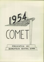 Page 5, 1954 Edition, Skaneateles High School - Comet Yearbook (Skaneateles, NY) online yearbook collection