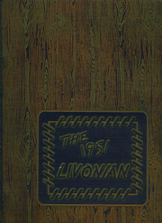 1951 Edition, Livonia Central High School - Livonian Yearbook (Livonia, NY)