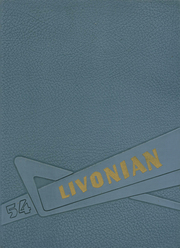 1954 Edition, Livonia Central High School - Livonian Yearbook (Livonia, NY)