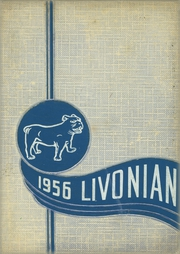 1956 Edition, Livonia Central High School - Livonian Yearbook (Livonia, NY)