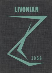 1958 Edition, Livonia Central High School - Livonian Yearbook (Livonia, NY)