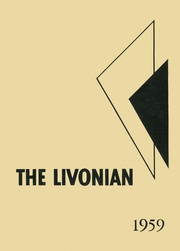 1959 Edition, Livonia Central High School - Livonian Yearbook (Livonia, NY)