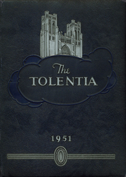 1951 Edition, St Nicholas of Tolentine High School - Tolentia Yearbook (Bronx, NY)
